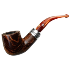 Peterson Silver Mounted Orange Army (01) Fishtail