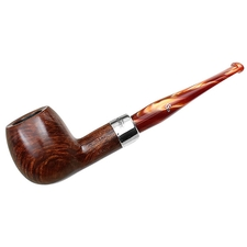 Peterson Silver Mounted Orange Army (87) Fishtail