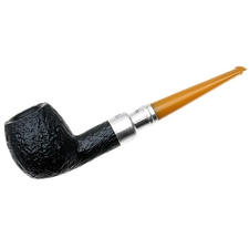 Peterson Sandblasted Amber Stem Spigot (87) P-Lip