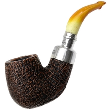 Peterson Sandblasted Amber Stem Spigot (X220) P-Lip
