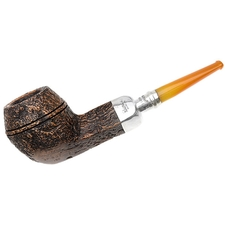Peterson Sandblasted Amber Stem Spigot (150) Fishtail