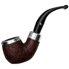 Peterson Silver Cap Sandblasted (221) Fishtail