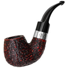 Peterson Dublin Edition Rusticated Bent Billiard Fishtail