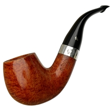 Peterson Sherlock Holmes Smooth Professor with Gold Band P-Lip
