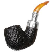 Peterson Sandblasted Amber Stem Spigot (221)