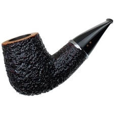 Radice Rind Aero Reverse Calabash Bent Billiard with Tamper