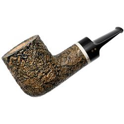Radice Silk Cut Aero Reverse Calabash Billiard with Antler and Tamper