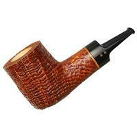Radice Silk Cut Aero Reverse Calabash Billiard with Tamper
