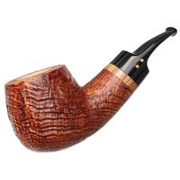 Radice Silk Cut Aero Reverse Calabash Bent Apple with Tamper