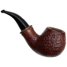Rinaldo Egea Collection Sandblasted Bent Apple (Y)