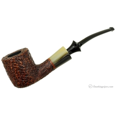 Savinelli Nonpareil Rusticated Brown Bent Pot