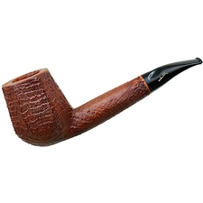 Savinelli Autograph Sandblasted Paneled Bent Brandy (5) (6mm)