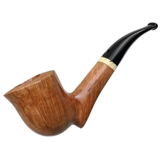 Savinelli Autograph Briar Line Smooth Freehand Bent Dublin (A) (6mm)