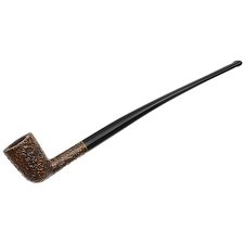 Savinelli Churchwarden Brown Rusticated (401)