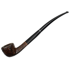 Savinelli Churchwarden Duo Brown Rusticated (305)