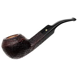 Savinelli Punto Oro Gold Sandblasted (624 KS) (6mm)