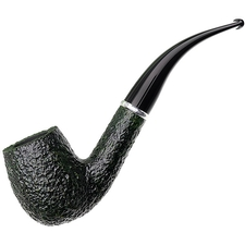 Savinelli Arcobaleno Rusticated Green (606 KS) (6mm)