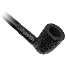 Savinelli Churchwarden Black Rusticated (401)