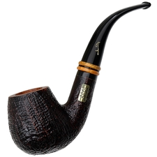 Savinelli Collection 2018 Sandblasted with Smooth Rim (6mm)