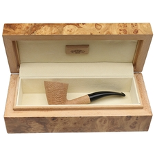 Savinelli Giubileo d'Oro Sandblasted Natural (920 KS) (6mm) with Burl Display Box