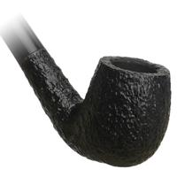 Savinelli Churchwarden Black Rusticated (601)