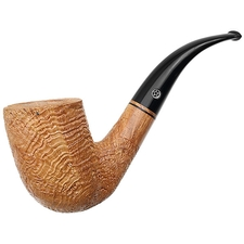 Mark Tinsky Tan Sandblasted Bent Billiard (B)