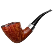 Winslow Smooth Freehand Bent Dublin with Silver (C)