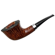 Winslow Smooth Freehand Bent Dublin with Silver (D)
