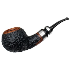 Winslow 2015 Rusticated Pipe of The Year with Silver (057)