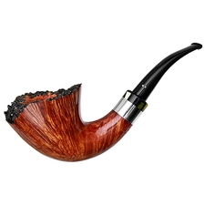 Winslow Smooth Bent Dublin with Silver (B)