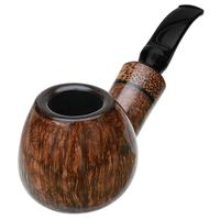Winslow Smooth Bent Brandy with Black Palm (C)