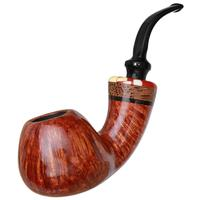 Winslow Smooth Bent Apple with Black Palm (D)