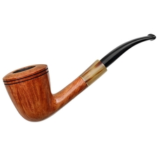 Randy Wiley Patina Bent Dublin with Horn (66)