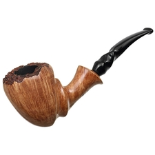 Randy Wiley Feather Carved Bent Dublin (66)