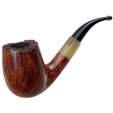 Randy Wiley Patina Bent Billiard with Horn (88)