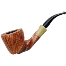 Randy Wiley Patina Freehand Bent Dublin with Horn (30)