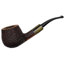Randy Wiley Galleon Bent Pot with Horn (55)