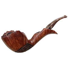 Randy Wiley Partially Rusticated Freehand Bent Dublin (66)