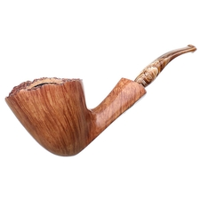 Randy Wiley Feather Carved Bent Dublin (10)