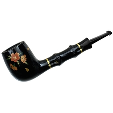 Tsuge Urushi Sakura Billiard with Bamboo and Tamper