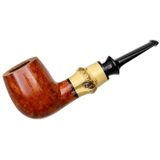 Tsuge Chubby Smooth Billiard with Bamboo
