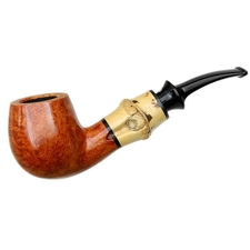 Tsuge Chubby Smooth Bent Billiard with Bamboo