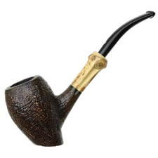 Tsuge Tokyo Sandblasted Bent Egg Sitter with Bamboo (551)