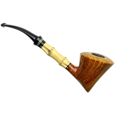 Smio Satou Smooth Bent Dublin with Bamboo and Tsuishu