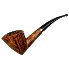 Smio Satou Smooth Bent Dublin with 18k Gold