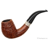 Ser Jacopo Sandblasted Bent Egg Picta Magritte with Silver 15 (S2)