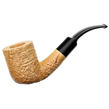Ser Jacopo Spongia Sandblasted Bent Billiard (S3)