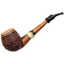 Ser Jacopo Picta Van Gogh Sandblasted Bent Apple with Horn (19) (S2)