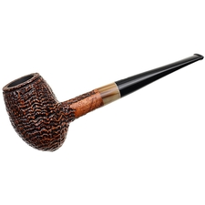 Ser Jacopo Picta Picasso Sandblasted Egg with Horn (28) (S2)