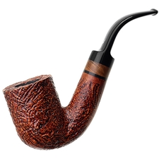 Ser Jacopo Sandblasted Bent Billiard (S2) (Maxima Maxima)